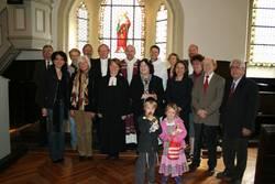 Viele Vertreterinnen und Vertreter aus der Ökumene und der Politik feierten den Gottesdienst zur Amtseinführung mit.