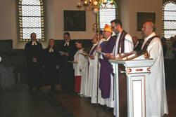 Amtseinführung Pfarrer Daniel Saam am 16.3.2014