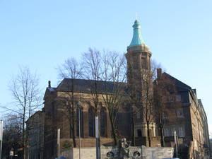 Foto der alt-katholischen Friedenskirche Essen