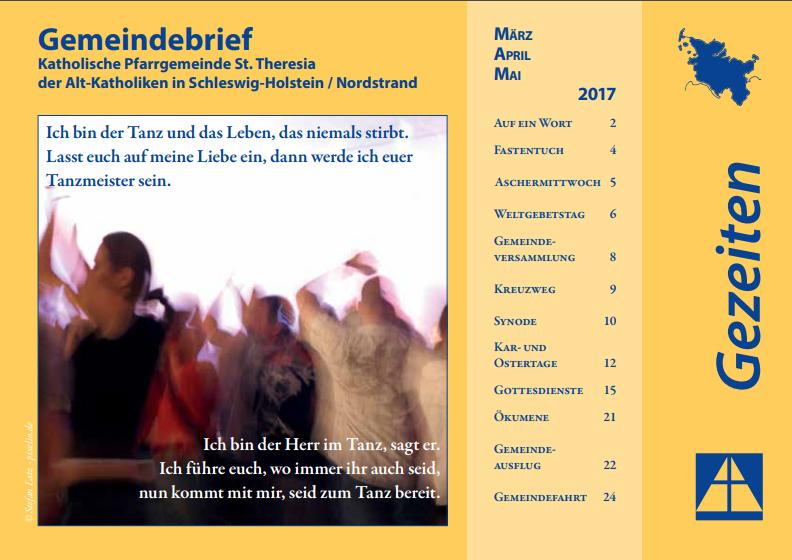 Gemeindebrief März - Mai 2017