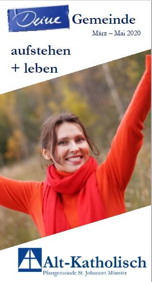 Gemeindebrief März bis Mai 2020