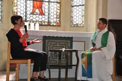 Dialogpredigt mit Doris Schiller von Donum Vitae Regensburg