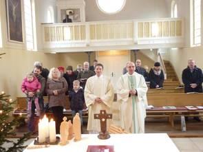 2011 Weihnachten mit Bischof Dr. Matthias Ring