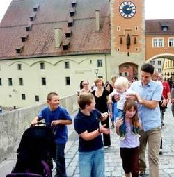 Unsere Partnergemeinde Passau besucht uns in Regensburg am 10. August