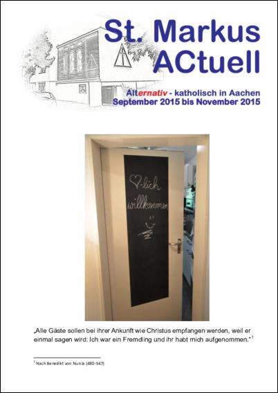 September - November 2015