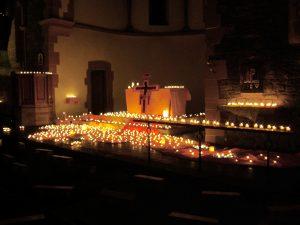 Nacht der Lichter in der Kirche Christi Auferstehung