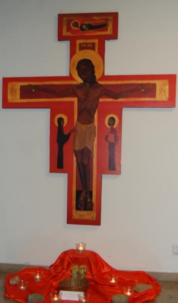 Franziskuskreuz in St. Willibrord