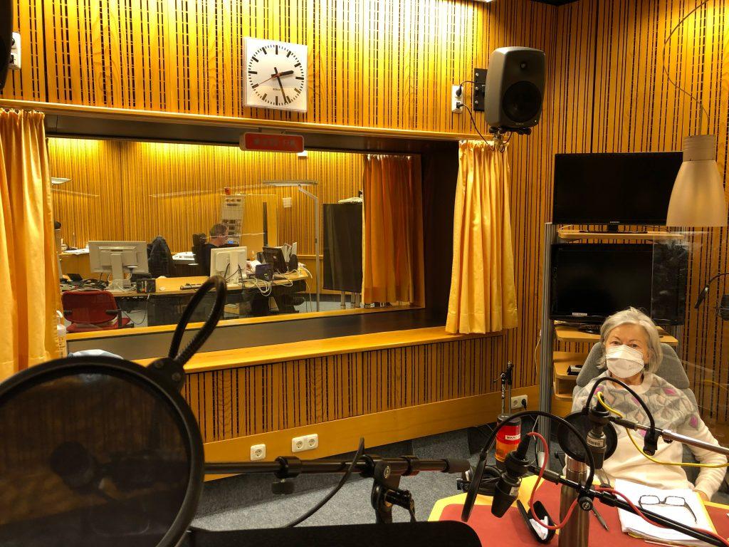 Die Sicht im Studio