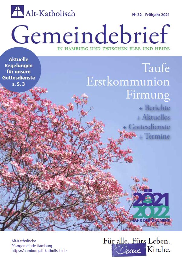 Gemeindebrief Frühjahr 2021