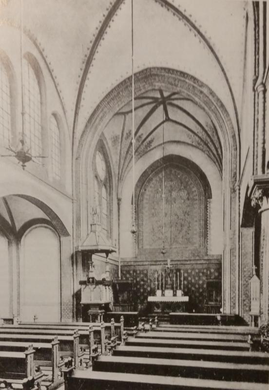 Innenansicht der Christuskirche um 1895