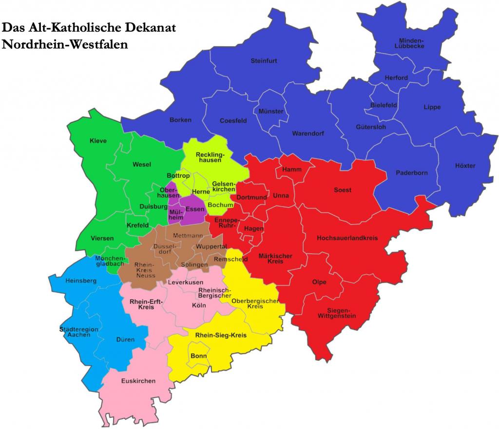 Das Alt-Katholische Dekanat Nordrhein-Westfalen